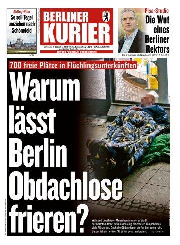 Berliner Kurier 04.12.2019