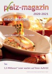 Mediadaten pfalz-magazin  2020-2021