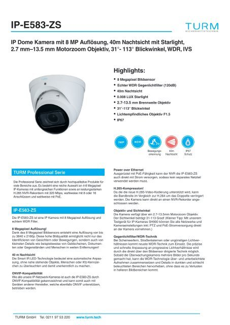 IP-E583-ZS Datenblatt