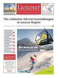 Liezener Bezirksnachrichten Nr. 10, November 2019