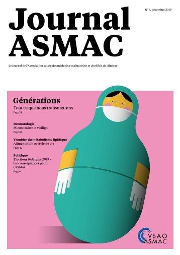JOURNAL ASMAC No 6 - décembre 2019