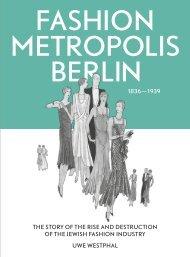Sample: Fashion Metropolis Berlin 1836 - 1939