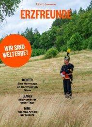 ERZFREUNDE Das Sachsen-Sonderheft zum Welterbe Erzgebirge