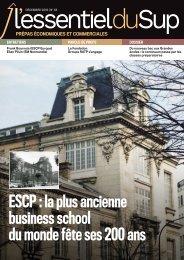 L'Essentiel Prépas n°33 - Décembre 2019