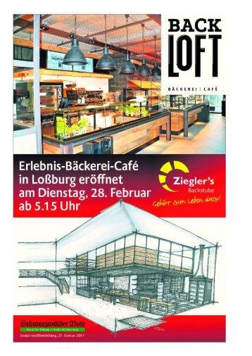 Einweihnung Neubau Bäckerei Ziegler Loßburg