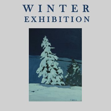 Winter Exhibition  Catalogue use