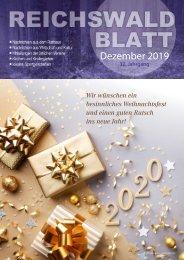 Reichswaldblatt - Dezember 2019