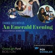 GreenLight Fund   BOSTON Emerald Evening 2019 Event Program