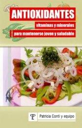 Antioxidantes - Vitaminas y minerales para mantenerse joven y saludable