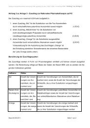 Anhang 3 zu Anlage 3 - Zuschlag zur Rationalen Pharmakotherapie ...