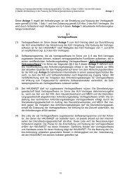 Diese Anlage 1 regelt die Anforderungen an die Erstellung und ...