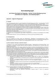 Servicebedingungen_CoKom One GmbH_Konnektor_ ...
