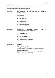 Kurzfassung Schnittstellenbeschreibung Sozialer Dienst der AOK