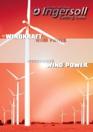 Windkraft Broschüre (Download PDF 3MB) - Ingersoll IMC