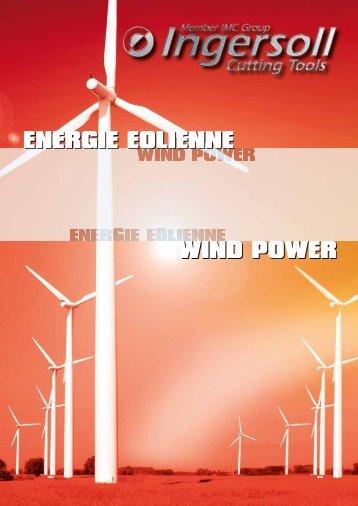 Brochure energie eolienne (Download PDF 3,5MB) - Ingersoll IMC