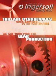 Brochure taillage d'engrenages (Download PDF 12MB) - Ingersoll IMC