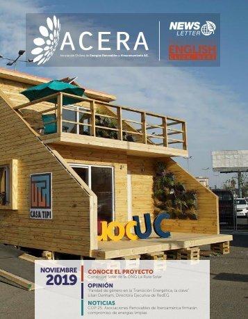 Newsletter ACERA - Noviembre 2019