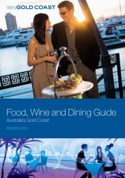 Food, Wine and Dining Guide - Gold Coast City Council