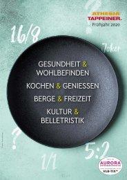 Athesia-Tappeiner Verlag - Programm Frühjahr 2020