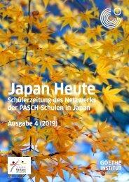 Japan Heute Ausgabe (4)2019, PASCH-Schülerzeitung