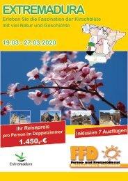 Extremadura 2020 - Kirschblüte