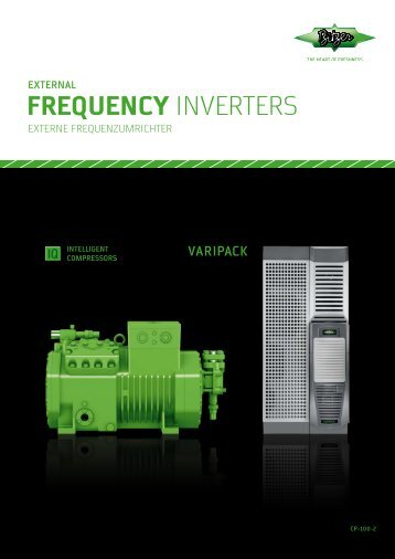 VARIPACK - externe Frequenzumrichter