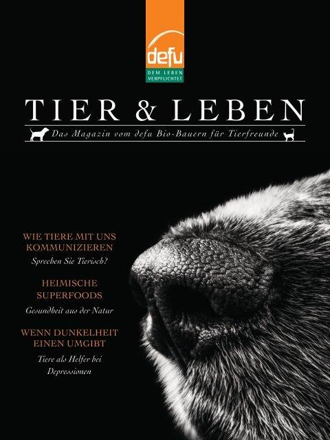 defu Magazin Tier und Leben 2019
