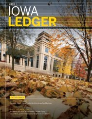 Iowa Ledger (2019) - Tippie College of Business