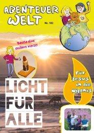 AbenteuerWelt // Kinderheft der DMG // Nr. 182