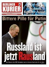 Berliner Kurier 10.12.2019