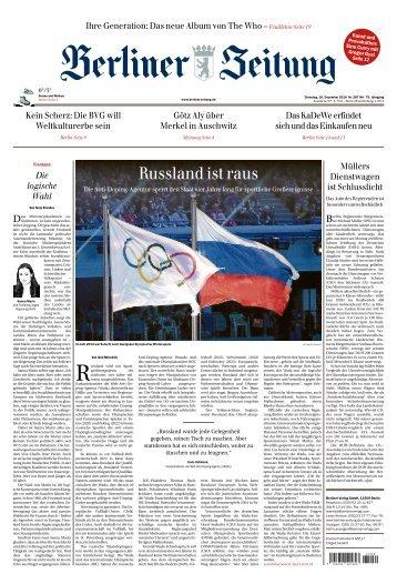 Berliner Zeitung 10.12.2019