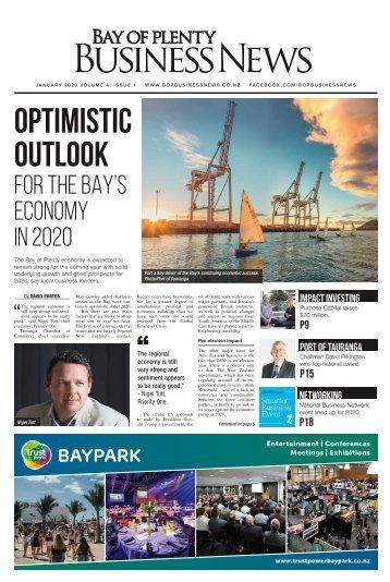 BAY OF PLENTY BUSINESS NEWS JANUARY 2020