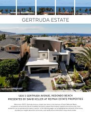 New modern construction in South Redondo Beach - Brochure 1203 S Gertruda Ave.