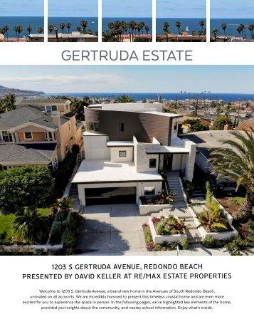New modern construction in South Redondo Beach - Brochure 1203 S Gertruda Ave.