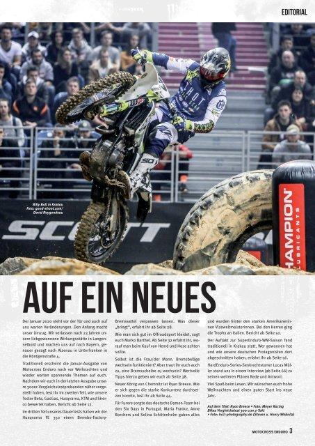 Motocross Enduro Ausgabe 01/2020