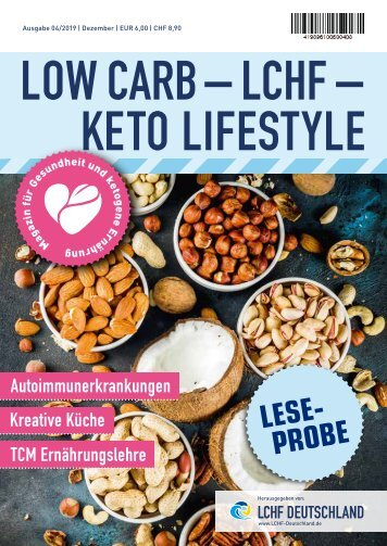 Low Carb – LCHF Magazin 4/2019