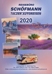 Reisekatalog Schöfmann 2020