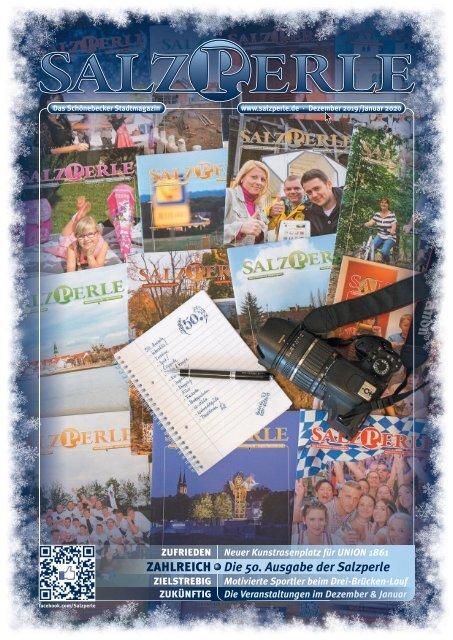 SALZPERLE - Stadtmagazin Schönebeck (Elbe) - Ausgabe 12/2019 + 01/2020