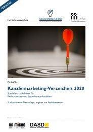 Kanzleimarketing-Verzeichnis 2020