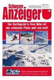 Schwyzer Anzeiger – Woche 50 – 13. Dezember 2019