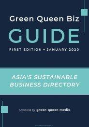 Green Queen Biz GUIDE - First Edition Jan 2020