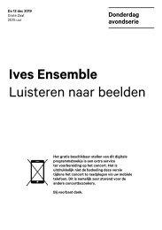 2019 12 12 Ives Ensemble