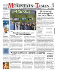 Mountain Times- Volume 49, Number 50: Dec. 11-17, 2019