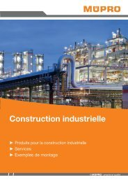 MÜPRO Catalogue Construction industrielle FR