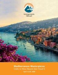 Mediterranean Masterpieces: Cádiz to Nice Aboard Sea Cloud II (April 16–25, 2020)