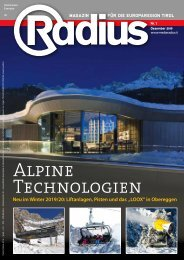 Alpine Technologien 2019