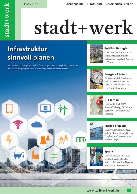 Stadtwerke Kiel, Referenzbericht, stadt+werk 11/12 2019