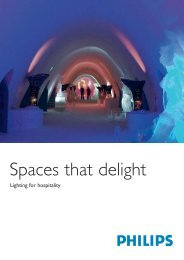Spaces that delight - Lighting - Philips