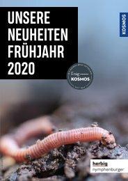 KOSMOS Unsere Neuheiten Frühjahr 2020