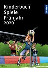 KOSMOS Kinder- & Jugendbuch Spiele Frühjahr 2020